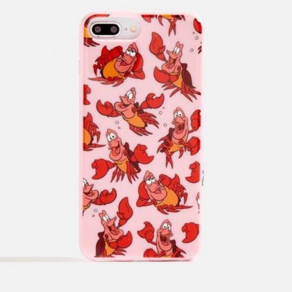 Disney x Skinnydip Sebastian iPhone 8 Plus case!